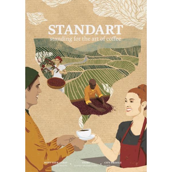 Standart Japan issue4 世界53ヶ国で読まれているコーヒーマガジン|d-tsutayabooks