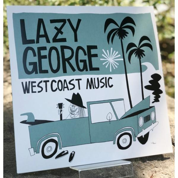 【代官山 蔦屋書店限定】LAZY GEORGE WEST COAST MUSIC レコード|d-tsutayabooks