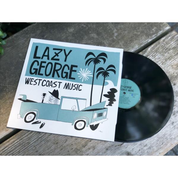 【代官山 蔦屋書店限定】LAZY GEORGE WEST COAST MUSIC レコード|d-tsutayabooks|02