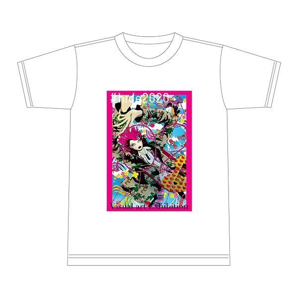 #hide2020 Tシャツ 白・黒(各色M/Lサイズ展開)|d-tsutayabooks|04