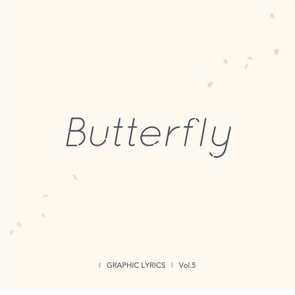 Butterfly (BTS GRAPHIC LYRICS Vol.5) d-tsutayabooks 02