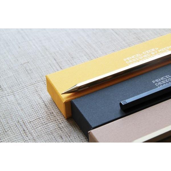 ペンシルダイス ペーパーウェイト Pencil Dice/Polish Gold|d-tsutayabooks|02