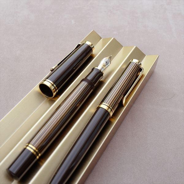 [限定品] ペリカン 万年筆 M800 ブラウンブラック|d-tsutayabooks|06