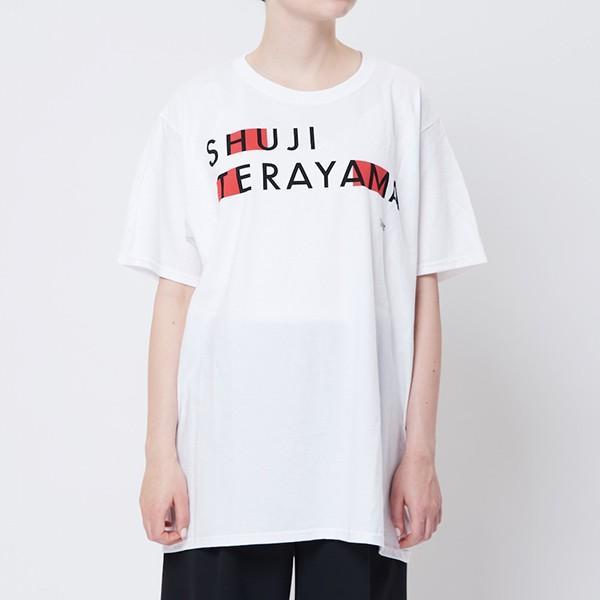 THEATRE BOOKS(シアターブックス) Tシャツ Shuji Terayama ホワイト|d-tsutayabooks