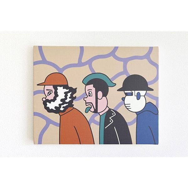 [予約受付中・2020年1月末入荷予定]Moutain Poor Boys キャンバスアート d-tsutayabooks