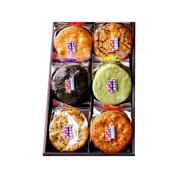 草加せんべい 草加いろいろ(6マス)×3箱胡麻 お煎餅 焼き海苔 代引き不可 宅配便 メーカー直送(ギフト対応不可)