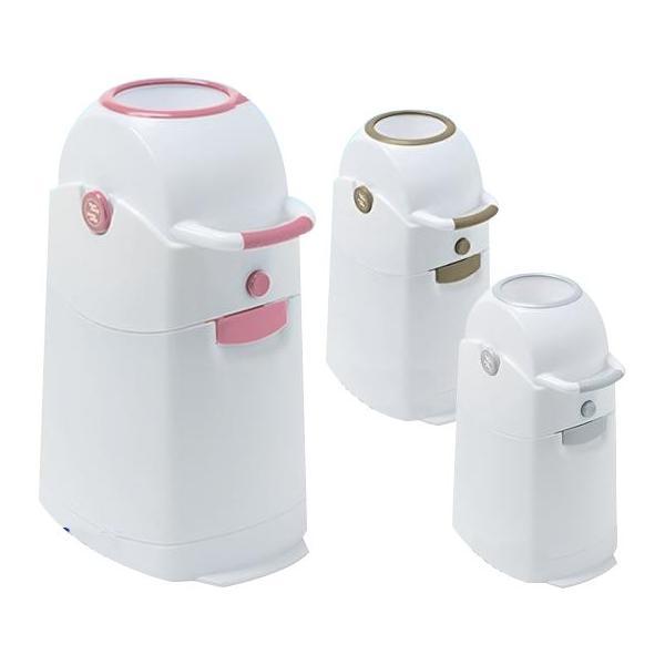 リトルプリンセス おむつ処理容器 くるっとポン レギュラーサイズ 代引き不可 宅配便 メーカー直送(ギフト対応不可)