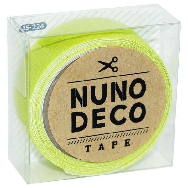 KAWAGUCHI(カワグチ) 手芸用品 NUNO DECO ヌノデコテープ キウイ 15-224 宅配便 メーカー直送(ギフト対応不可)