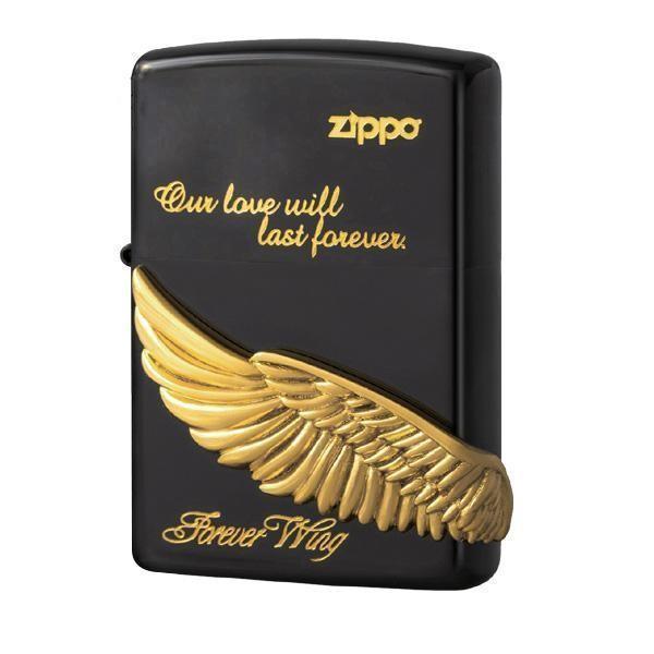ZIPPO フォーエバーウイング BK 2-44b (♯200) 70575 代引き不可 宅配便 メーカー直送(ギフト対応不可)