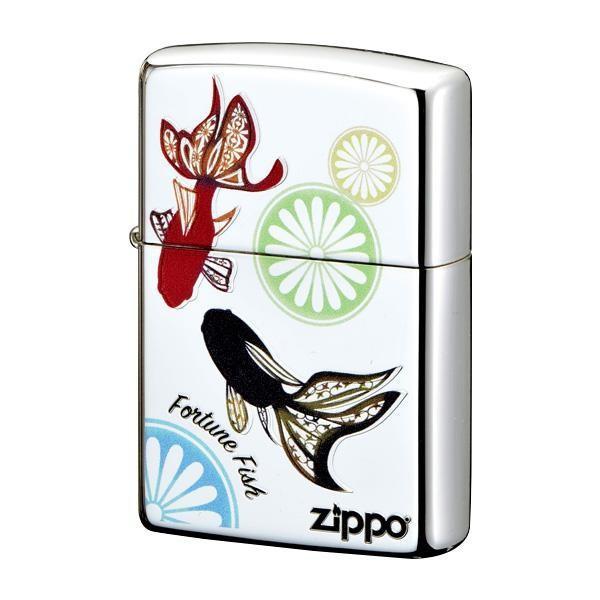 ZIPPO 幸福金魚 2-106a (♯200) 70609 宅配便 メーカー直送(ギフト対応不可)