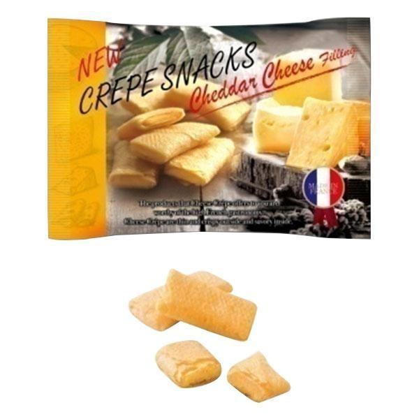 エイム クレープスナック チェダーチーズ 18袋 100001689 代引き不可 宅配便 メーカー直送(ギフト対応不可)