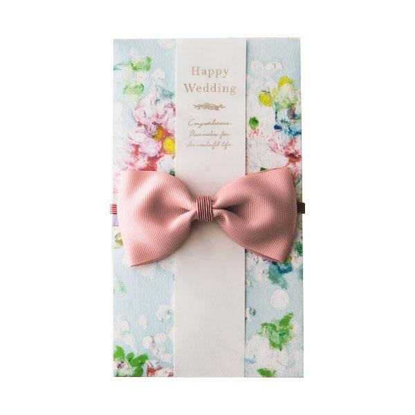 花を贈るご祝儀袋 Sweet Garden ライトブルー GGS-02 宅配便 メーカー直送(ギフト対応不可)