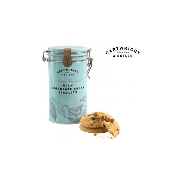 Cartwright&Butler カートライト&バトラー ミルクチョコレートビスケット 6缶 10041057C&B イギリス お菓子 代引き不可 宅配便 メーカー直送(ギフト対応