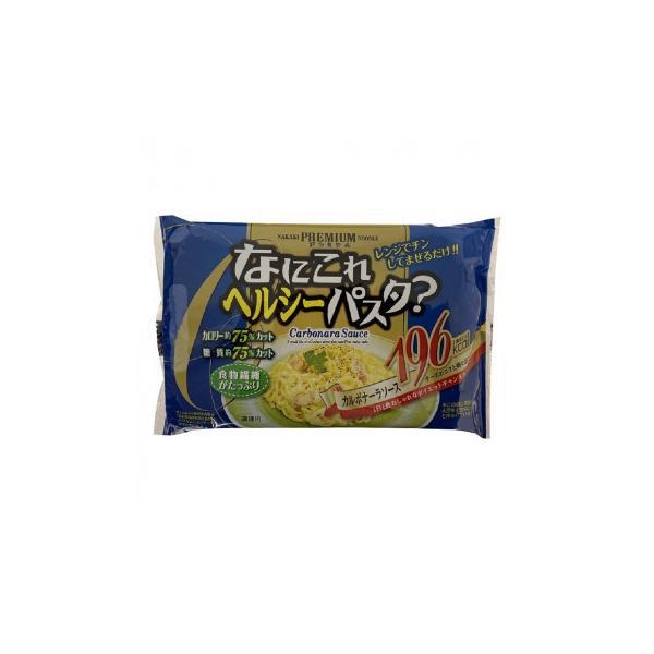 ナカキ食品 こんにゃくパスタ なにこれヘルシーパスタカルボナーラ 18個セット 代引き不可 宅配便 メーカー直送(ギフト対応不可)