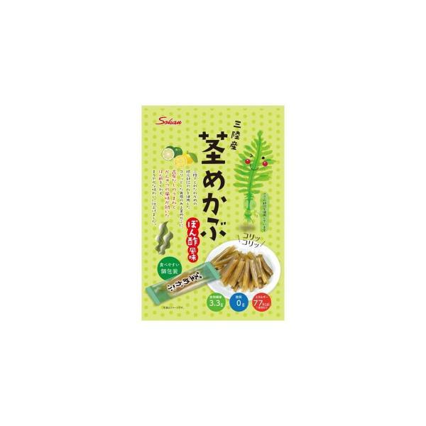 壮関 三陸産茎めかぶポン酢風味 95g×72袋 代引き不可 宅配便 メーカー直送(ギフト対応不可)