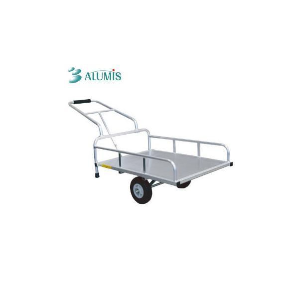 アルミス アルミリヤカー ノーパンク 4型FT 代引き不可 宅配便 メーカー直送(ギフト対応不可)