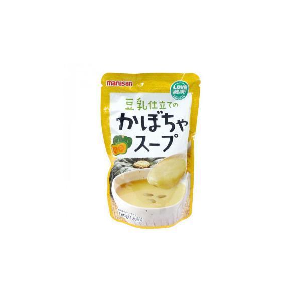 マルサン 豆乳仕立てのかぼちゃスープ 180g×10袋 4732 代引き不可 宅配便 メーカー直送(ギフト対応不可)