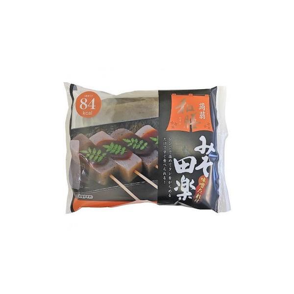 ナカキ食品 蒟蒻和膳みそ田楽 180g×24個 代引き不可 宅配便 メーカー直送(ギフト対応不可)