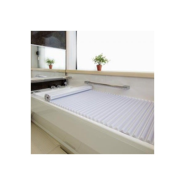 イージーウェーブ風呂フタ 90×140cm用 ブルーお風呂 蓋 洗いやすい 宅配便 メーカー直送(ギフト対応不可)
