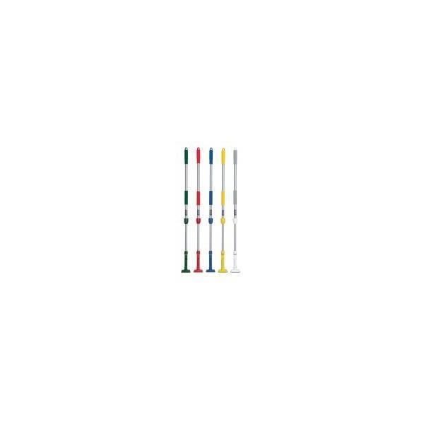 テラモト FXハンドル アルミ伸縮柄掃除 デッキブラシ モップ 宅配便 メーカー直送(ギフト対応不可)