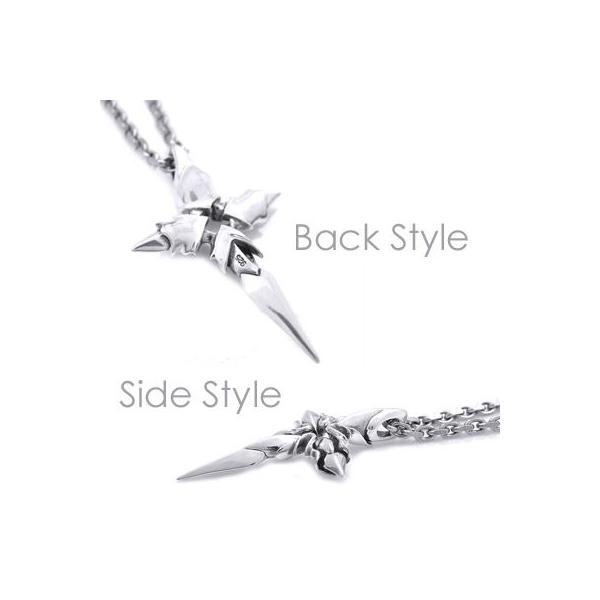 ネックレス シルバー メンズ クロス 十字架 ロック シンプル シルバー925 人気 プレゼント dagdart ダグダート|dagdart|03