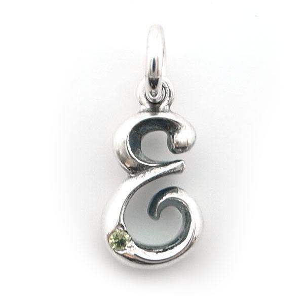 ネックレス シルバー イニシャル 誕生石 メンズ レディース シルバー925 人気 プレゼント dagdart ダグダート|dagdart|05