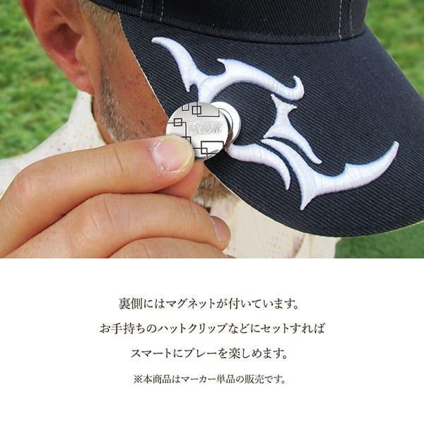 名入れOK! 銀製 ボールマーカー/ゴルフマーカー ゴルフ好きの方へのギフトに大好評!【dagdart GOLF】 MS-056|dagdart|03