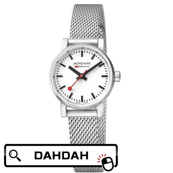 MSE.26110.SM MONDAINE モンディーン スイス 鉄道時計  レディース 腕時計 国内正規品 送料無料|dahdah