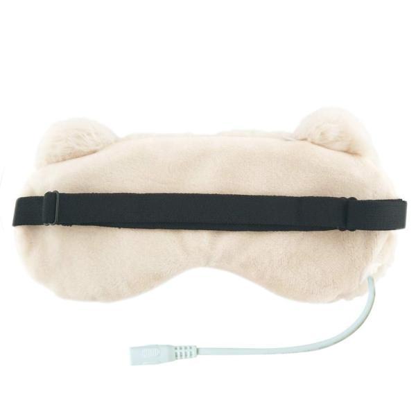 Aroma Season USB電熱式ホットアイマスク かわいいねこのデザイン 温度とタイマー調節可能 日本語の取扱説明書付き スリープエイド ギフ|dahlia-s|04
