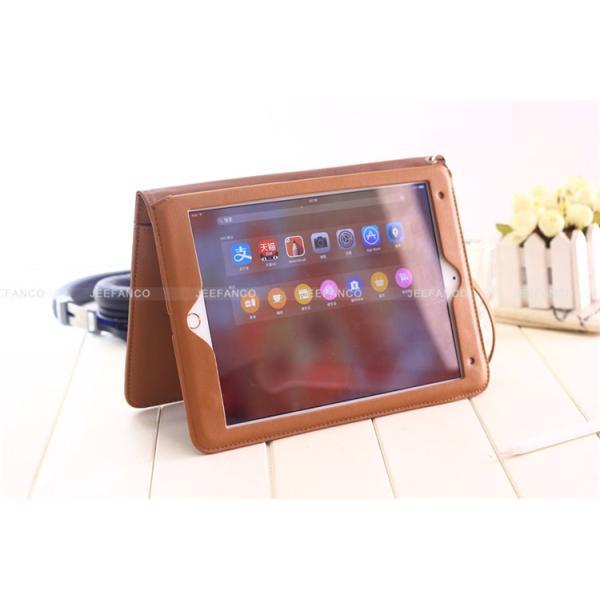 iPad Pro 10.5  レザーケース iPad Pro 9/7インチ 12.9インチ 手帳型 ストラップ付き 手持ちバンド ipad air air2 収納ケース|dai-arunmui|05