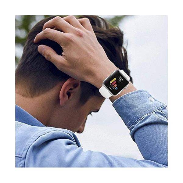 Nywing apple watch バンド,series 4/3/2/1に対応 アップルウォッチバンドベルト スポーツバンド シリコン製柔らかい