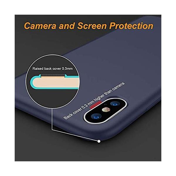 Reacly iPhone XS MAXケース iPhone Xs ケース/iPhone X ケース アイフォンXS/XS MAX ケース 薄型 シ