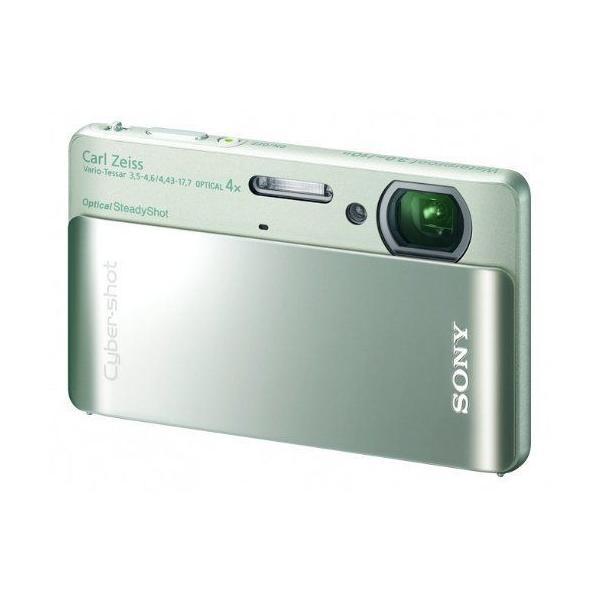 ソニー SONY デジタルカメラ Cybershot TX5 (1020万画素CMOS/光学x4/グリーン) DSC-TX5/G
