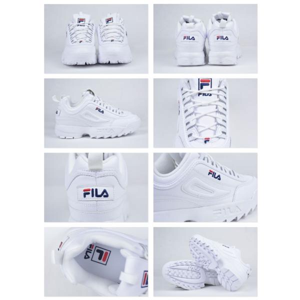 フィラ メンズ スニーカー 靴 FILA DISRUPTOR 2 PREMIUM ディスラプター2 厚底 ダッドシューズ|daibo|02