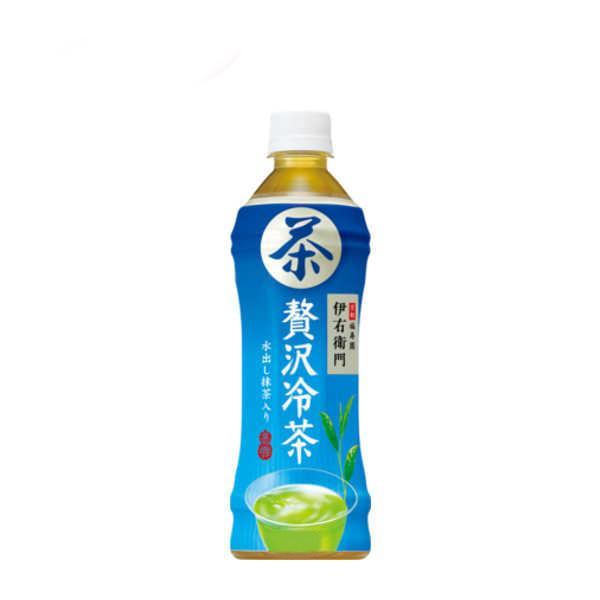 緑茶 伊右衛門 贅沢冷茶 サントリー 500mlペット 24本入|daihei