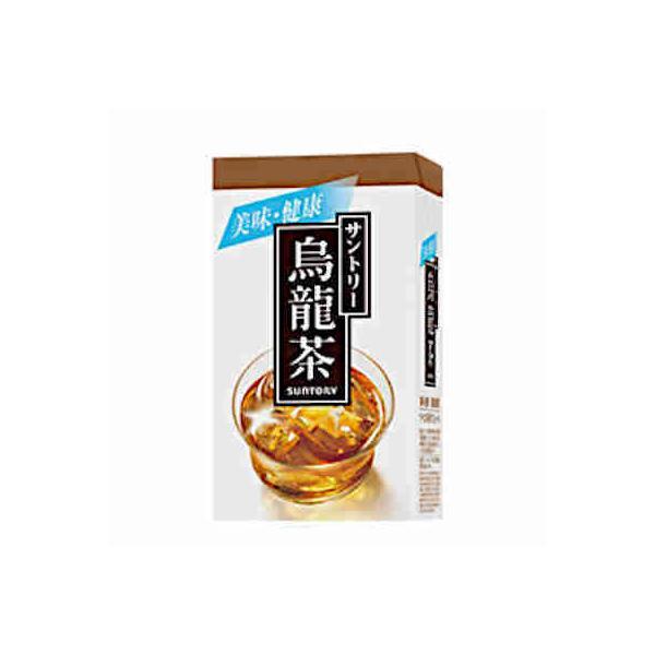 サントリー 烏龍茶 1L 紙パック 6本入|daihei