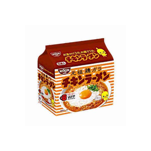 チキンラーメン 日清食品 5食パック 6個入り|daihei