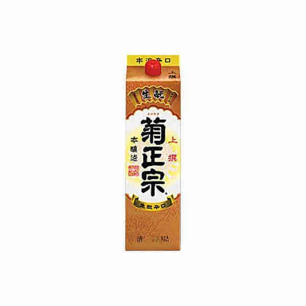 本醸造 上撰 菊正宗酒造 1.8L(1800ml) パック 6本入り|daihei