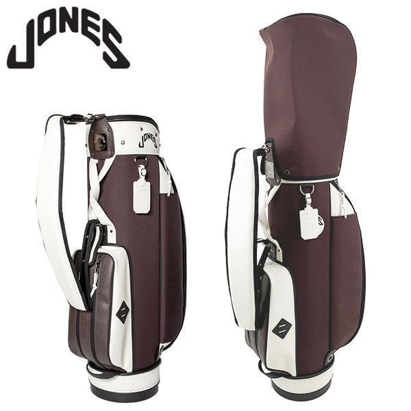 ジョーンズ ライダー チョコレートブラウン キャディバッグ JONES Tour Bag RIDER Chocolate Brown