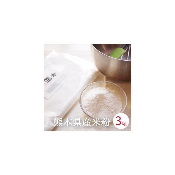 米粉 3kg (1kg x3袋) 料理用 パン用 菓子用 製菓用 グルテンフリー 熊本県産 国産 米粉麺 お好み焼き 離乳食 ライスミルク