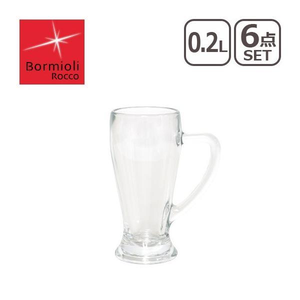 Bormioli Rocco(ボルミオリロッコ)ビアグラス バビエラ ビアグラス 0.2L 1.33420 (6個入)RBR-08|daily-3
