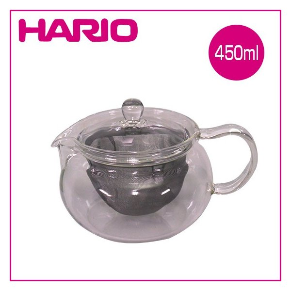 HARIO(ハリオ)茶々急須 丸 450ml CHJMN-45T ガラス製急須 ティーポット|daily-3