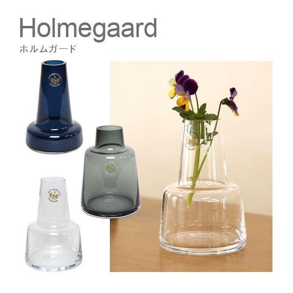 ホルムガード フローラ 花瓶 フラワーベース H12 おしゃれ北欧ガラス 選べるデザイン Holmegaard 12cm