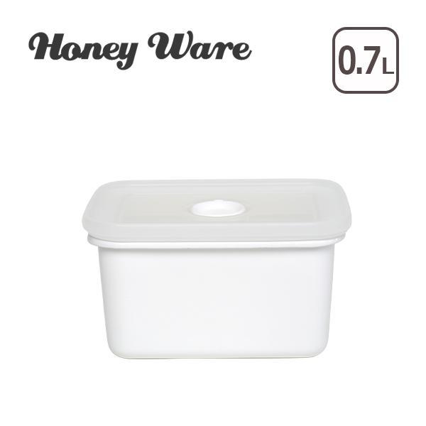 Honey Ware(ハニーウェア)バターケース450 N-450 富士ホーロー