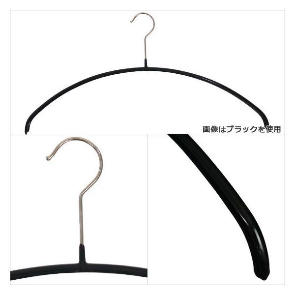 MAWAハンガー (マワハンガー)Economic・P ×10本セット 46P 03100 選べるカラー(ブラック・シルバー・ホワイト)|daily-3|02