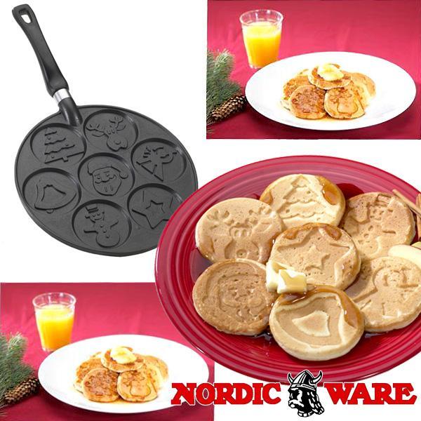 ノルディックウエア オシャレなケーキ型 クリスマスホリデーパンケーキパン Nordic Ware|daily-3|02