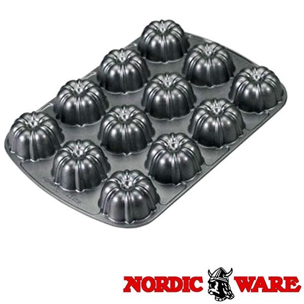ノルディックウエア オシャレなケーキ型 ブラウニーパン Nordic Ware|daily-3