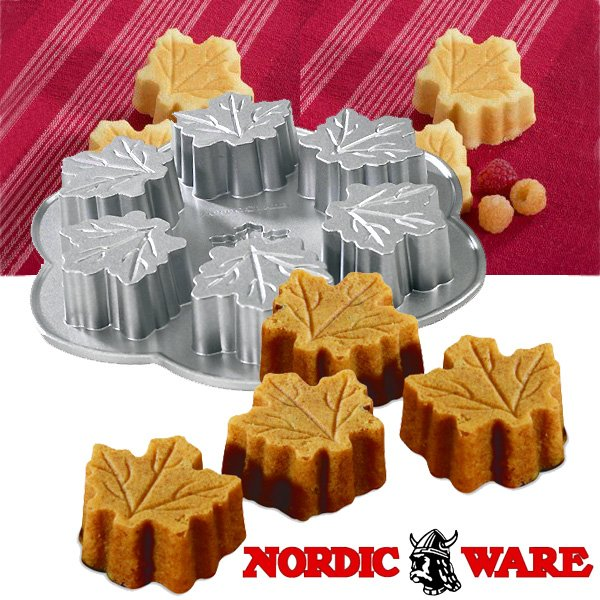 ノルディックウエア かわいい楓の形のケーキ型 メイプルリーフパン Nordic Ware|daily-3|02
