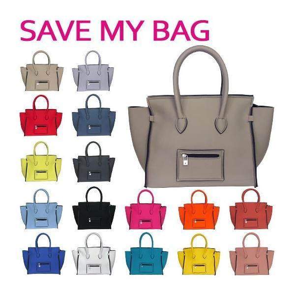 SAVE MY BAG セーブマイバッグ ポルトフィーノ Mサイズ ハンドバッグ 2129N 選べるカラー|daily-3