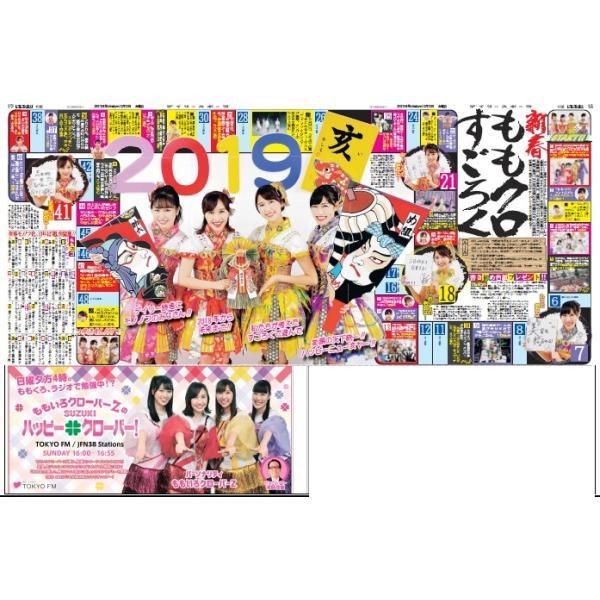 デイリースポーツ(東京版) 2019年1月1日(火)付 dailysports 02